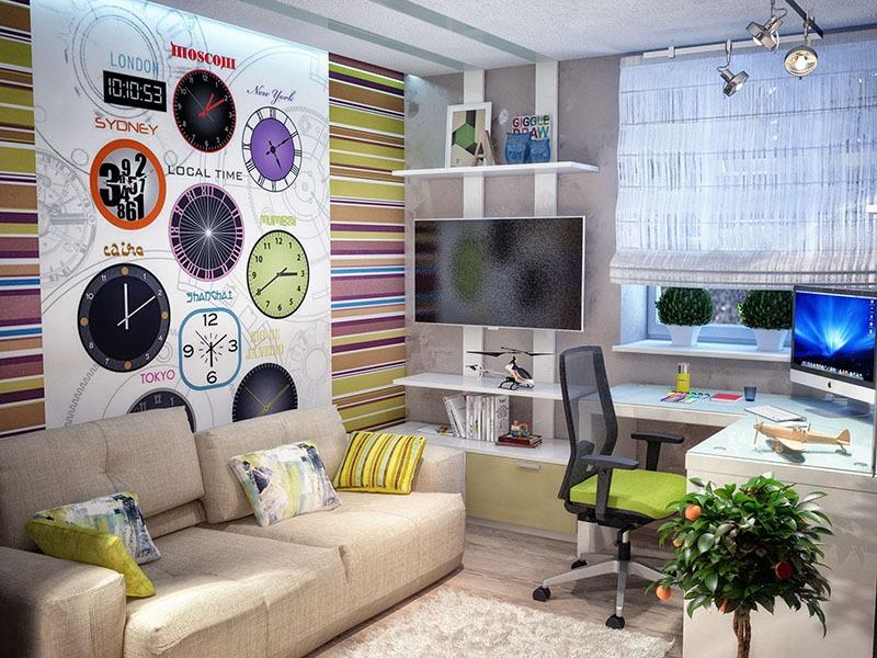Интерьер детской комнаты 1112 кв м секреты и хитрости
