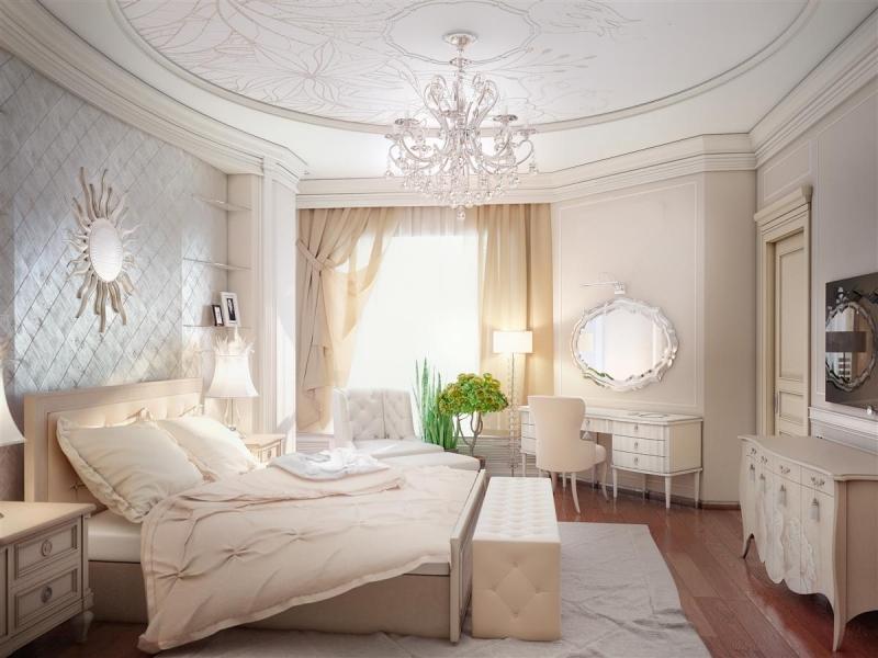 Дизайн в классическом стиле светлые тона