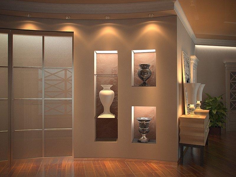 Дизайн квартир ниши в стенах