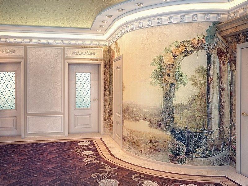 Дизайн с фресками