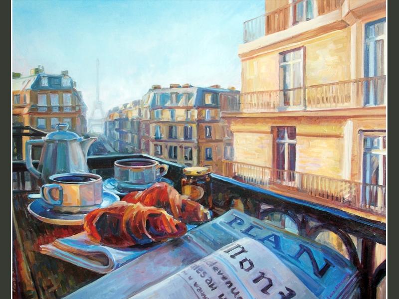 Завтрак в Париже»