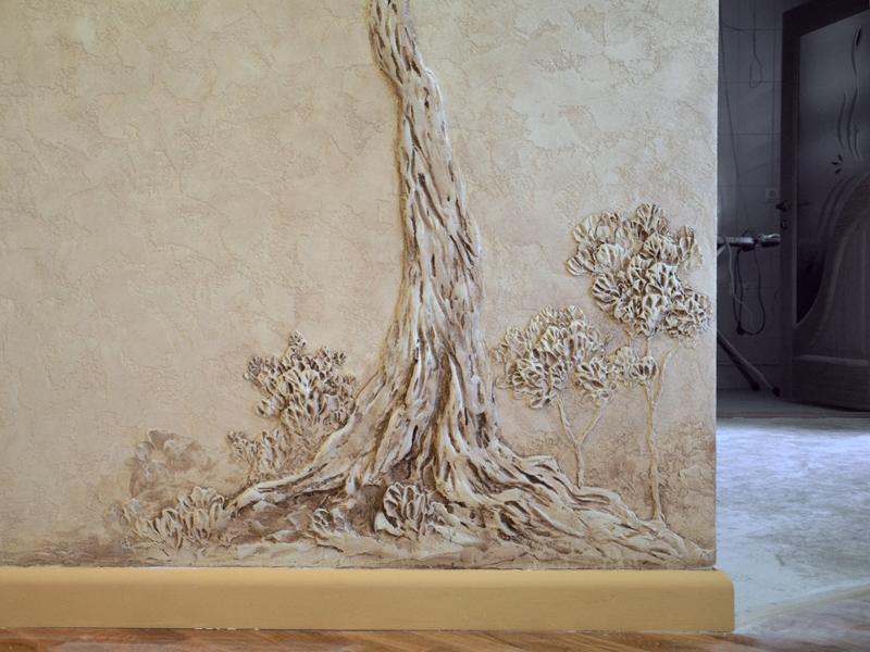Фактура дерева на стене