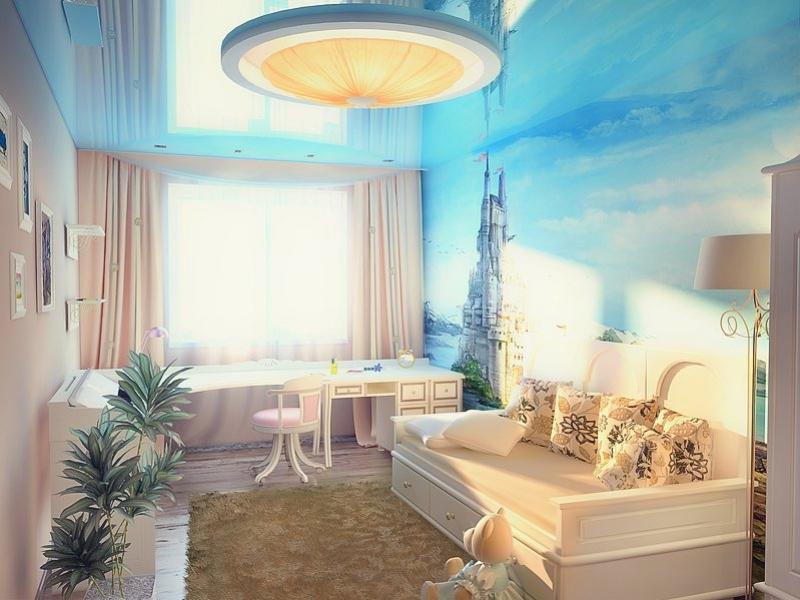 детская комната с фотообоями дизайн интерьера квартиры г салехард