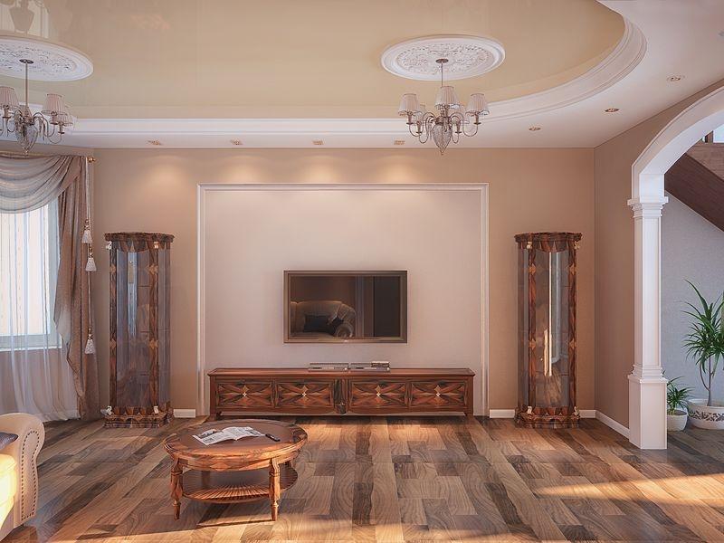 кухня столовая в классическом стиле дизайн коттеджа частные дома